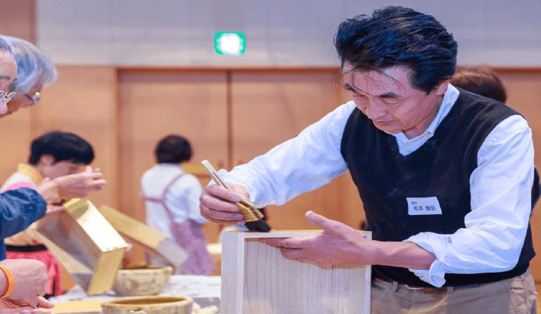 『新宿ものつくりマイスター技の名匠に学ぶ 木工体験教室』Vol.3