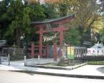 青海神社 入口の鳥居