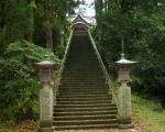 青海神社 階段