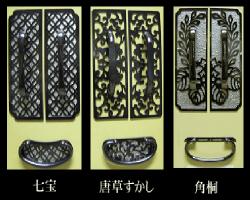 新品の金具を設置(持参した4種類からお選びください)