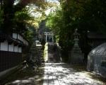 青海神社 入口風景