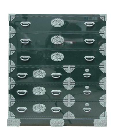 100巾角(隅)金具整理箪笥