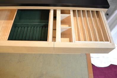 宝石箱と帯〆収納箱