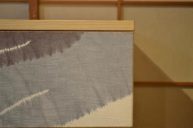100巾 小袖 5重 京鹿ノ子絞り